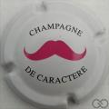 Champagne capsule A3.d Moustache rose