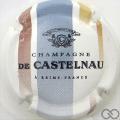 Champagne capsule 4 Barre bleue et marron