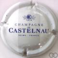 Champagne capsule 7 Blanc et bleu, barre grise