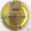 Champagne capsule 7.c Or et marron