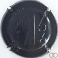 Champagne capsule 9 Estampée noire