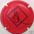Champagne capsule 11.f Rouge et noir