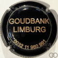 Champagne capsule A2.a Goudbank Limburg, fond noir