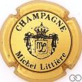 Champagne capsule 2 Or mat et noir