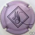 Champagne capsule 11.b Rosé-violacé et noir