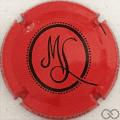 Champagne capsule 59.f Rouge et noir