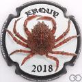 Champagne capsule 22.a Erquy 2018, contour noir