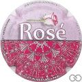 Champagne capsule 11 Rosé