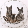 Champagne capsule 10.b 3 chiens