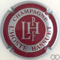 Champagne capsule 12 Argent, contour bordeaux