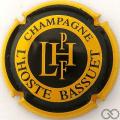 Champagne capsule 13 Jaune et noir, contour jaune