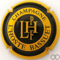 Champagne capsule 13 Jaune et noir