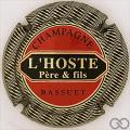 Champagne capsule 10 Or, rouge et noir