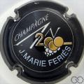 Champagne capsule 614 An 2000, n°614, noir