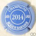 Champagne capsule 17.ab Bleu pâle et blanc, 2014