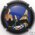 Champagne capsule 81 5ème série, fond noir