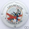 Champagne capsule 45 1ère série, fond blanc