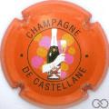 Champagne capsule 39.a 1ère série, orange clair