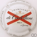 Champagne capsule 90.h 9ème série, fond blanc