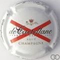 Champagne capsule 90.d 9ème série, fond blanc
