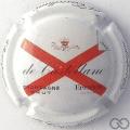 Champagne capsule 90.i 9ème série, fond blanc