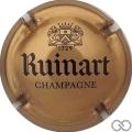 Champagne capsule 62.a Or-bronze et noir, 32 mm
