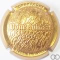 Champagne capsule A2 Estampée or