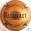 Champagne capsule 49 Or et gris, 32 mm