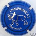 Champagne capsule 1.b Bleu, Hermine