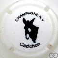 Champagne capsule 1.a Blanc, Cadichon