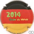 Champagne capsule 51.d Drapeau Allemand