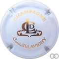 Champagne capsule  Blanc et or
