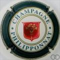 Champagne capsule 35.a Ecusson rouge et or, contour vert