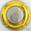 Champagne capsule 16 G, estampée or