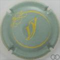 Champagne capsule 6.c Vert pâle et jaune