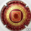Champagne capsule 10 Bordeaux et or