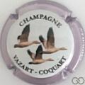 Champagne capsule 26.b Contour mauve