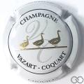 Champagne capsule 27.b Contour blanc