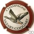 Champagne capsule 15 Contour bordeaux