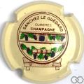 Champagne capsule 6.a Grappes violet foncé, plain
