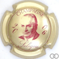 Champagne capsule 33.b 2006, or pâle