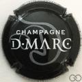 Champagne capsule 6 Noir et blanc