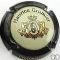 Champagne capsule 18.e Contour noir, or pâle