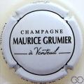Champagne capsule 20 Blanc et noir