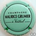 Champagne capsule 22 Vert pâle et noir