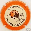 Champagne capsule 45.d Contour orange
