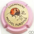 Champagne capsule 45.e Contour rose