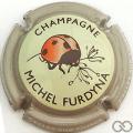 Champagne capsule 45.f Contour gris pâle