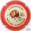 Champagne capsule 45.b Contour rouge