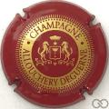 Champagne capsule 5 Bordeaux et or